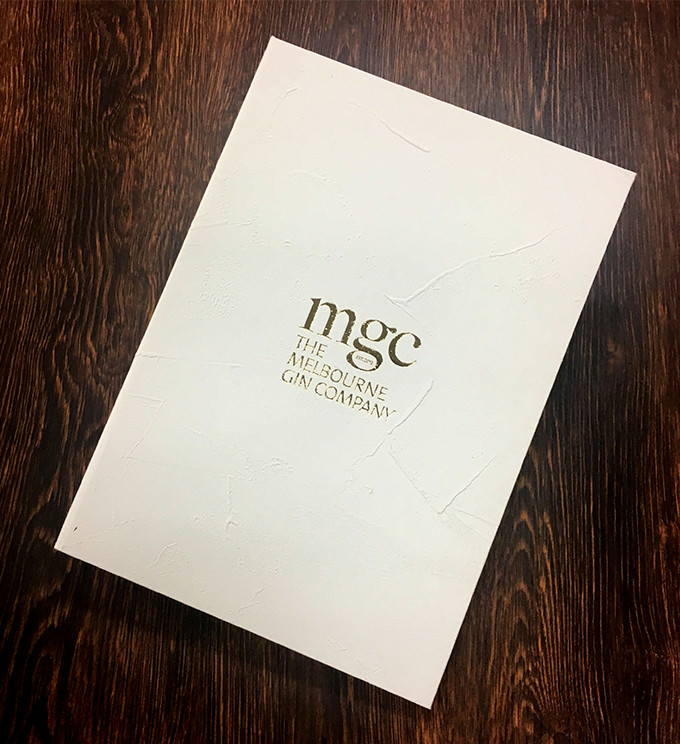 mgc MELBOURNE GIN COMPANY